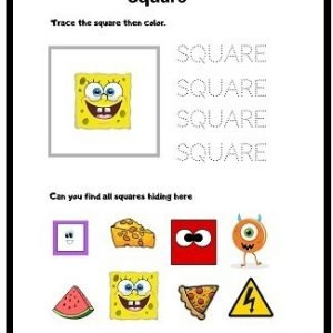square free worksheet