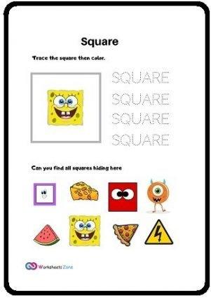 square free worksheet