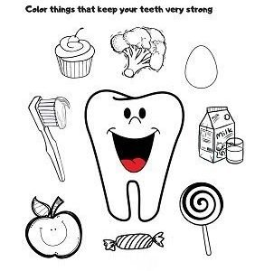 Teeth and dental health activities and printables