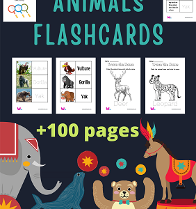 animals printable flashcards with pictures pdf