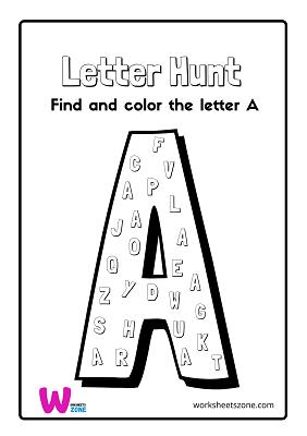 free printable letter recognition worksheets