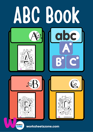 Free ABC Words and Alphabet Books for Kids
