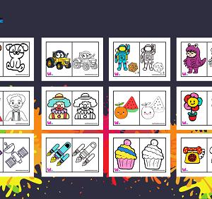 coloring free preschooler kindergarten book pdf pattern draw color