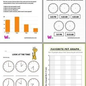 grade 4 math worksheets pdf